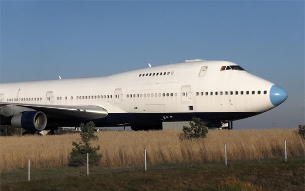 The Jumbo Stay Airplane Hotel