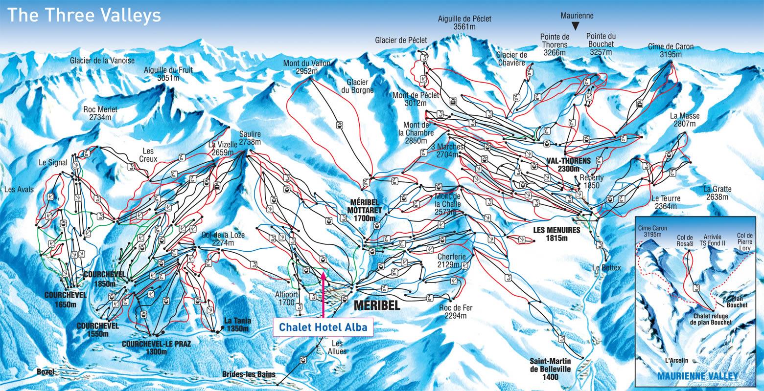 M 233 Ribel Piste Map Interactive Map Of M 233 Ribel